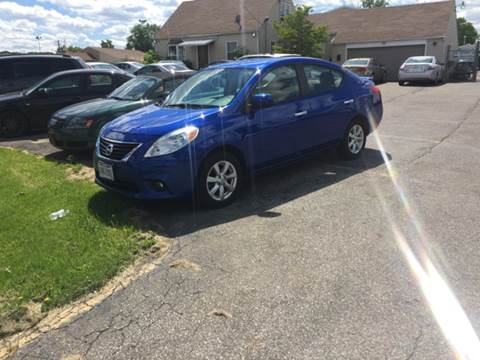 2013 Nissan Versa for sale at Or Best Offer Motorsports in Columbus OH