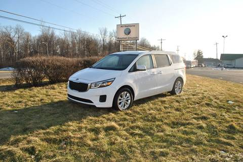 2016 Kia Sedona for sale at Or Best Offer Motorsports in Columbus OH