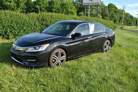 2017 Honda Accord for sale at Or Best Offer Motorsports in Columbus OH