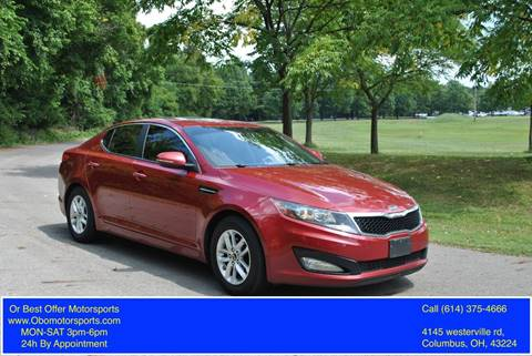 2011 Kia Optima for sale at Or Best Offer Motorsports in Columbus OH