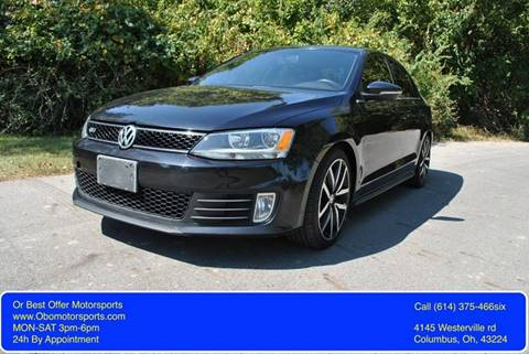 2012 Volkswagen Jetta for sale at Or Best Offer Motorsports in Columbus OH