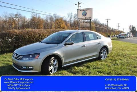 2012 Volkswagen Passat for sale in Columbus, OH