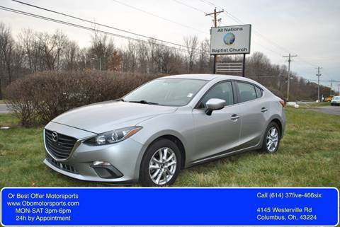 2014 Mazda MAZDA3 for sale at Or Best Offer Motorsports in Columbus OH