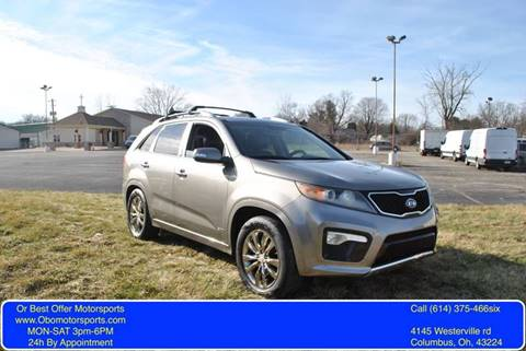 2011 Kia Sorento for sale at Or Best Offer Motorsports in Columbus OH