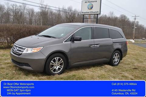 2011 Honda Odyssey for sale at Or Best Offer Motorsports in Columbus OH