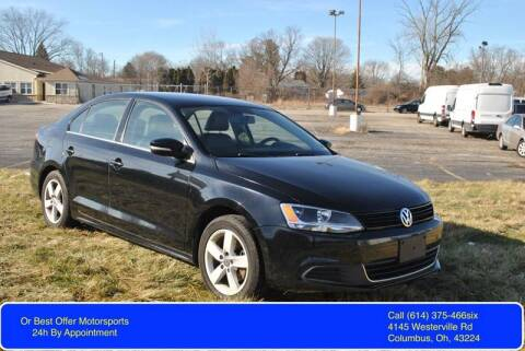 2014 Volkswagen Jetta for sale at Or Best Offer Motorsports in Columbus OH
