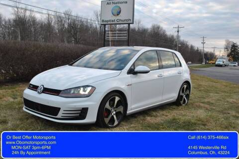 2015 Volkswagen Golf GTI for sale at Or Best Offer Motorsports in Columbus OH