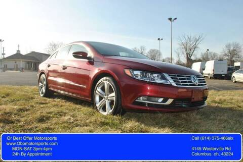 2013 Volkswagen CC for sale at Or Best Offer Motorsports in Columbus OH