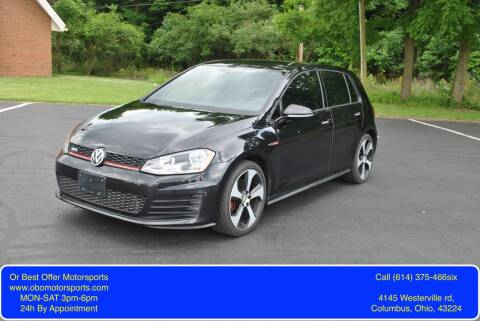 2016 Volkswagen Golf GTI for sale at Or Best Offer Motorsports in Columbus OH