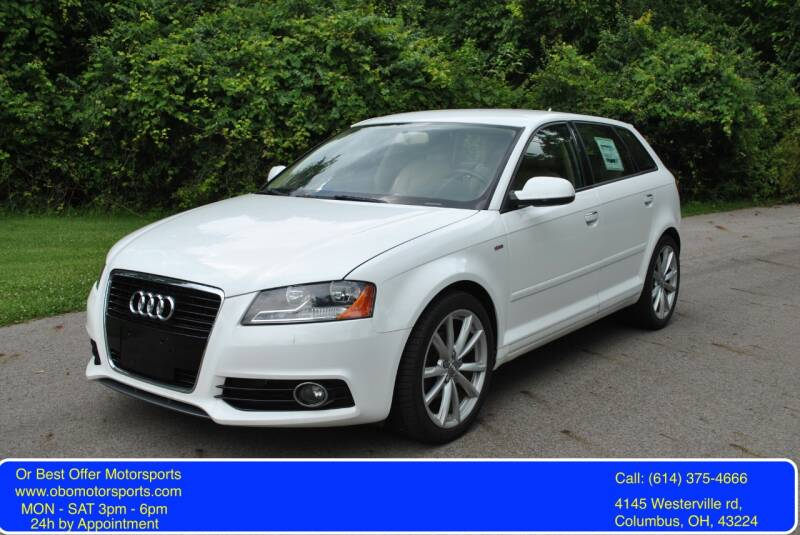 2011 Audi A3 for sale at Or Best Offer Motorsports in Columbus OH