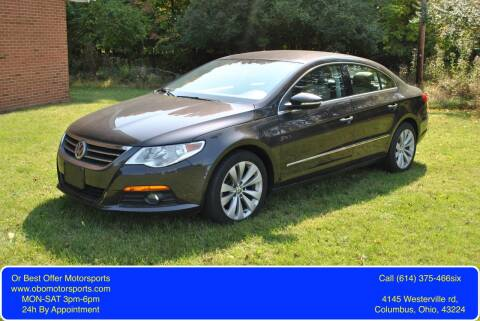 2010 Volkswagen CC for sale at Or Best Offer Motorsports in Columbus OH