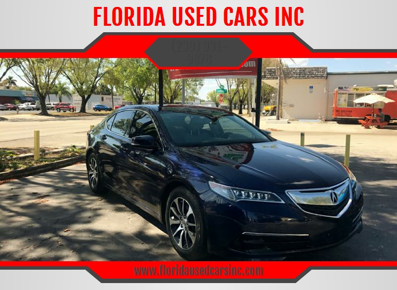 2015 acura tlx in fort myers fl florida used cars inc. Black Bedroom Furniture Sets. Home Design Ideas