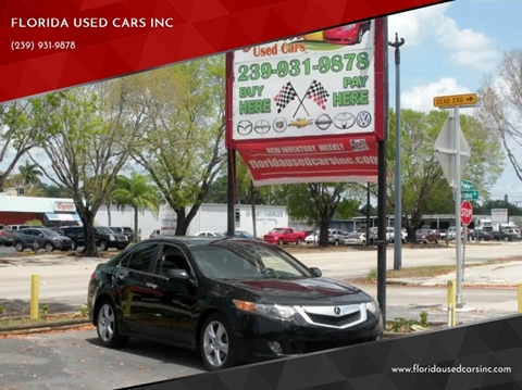 Acura Fort Myers >> 2009 Acura Tsx For Sale In Fort Myers Fl