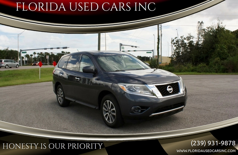 2013 Nissan Pathfinder For Sale At FLORIDA USED CARS INC In Fort Myers FL