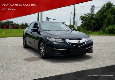 Acura Fort Myers >> Acura Tlx For Sale In Fort Myers Fl Florida Used Cars Inc