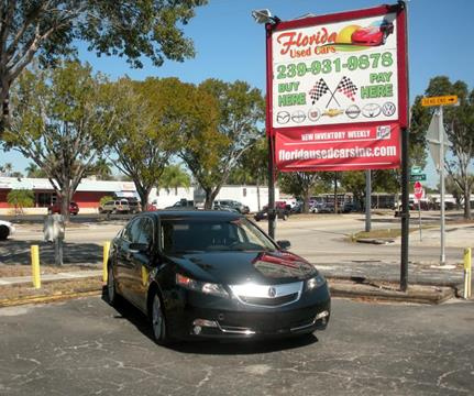 2012 Acura TL for sale in Fort Myers, FL
