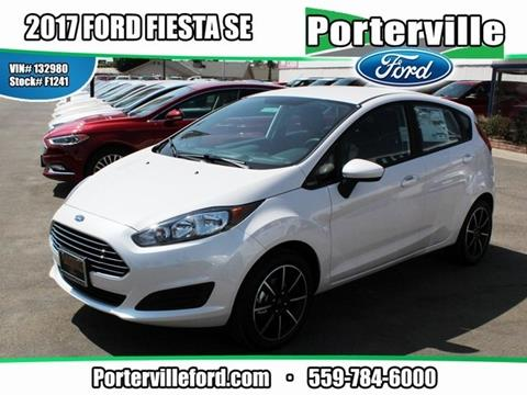 2017 Ford Fiesta for sale in Porterville CA