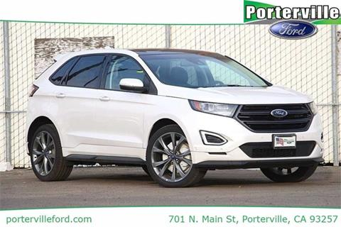 2017 Ford Edge for sale in Porterville CA