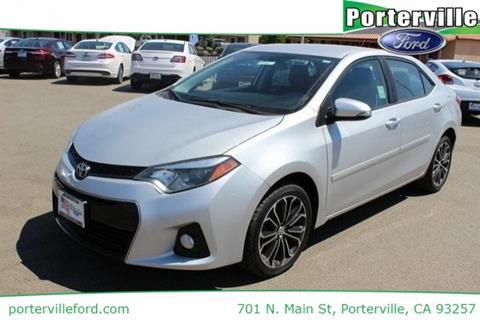 2014 Toyota Corolla for sale in Porterville CA
