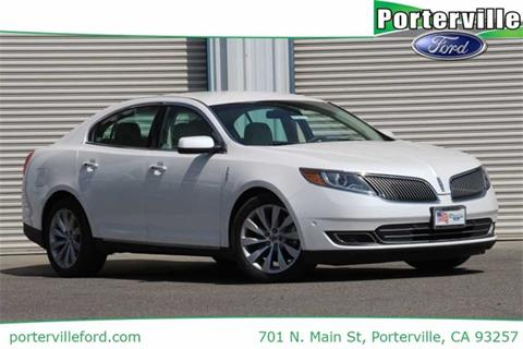 2013 Lincoln MKS for sale in Porterville CA