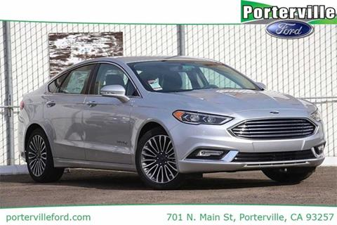 2017 Ford Fusion Hybrid for sale in Porterville, CA