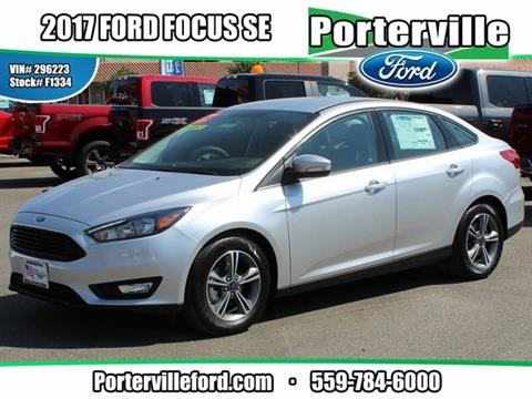 2017 Ford Focus for sale in Porterville CA