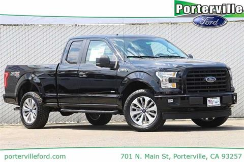 2017 Ford F-150 for sale in Porterville CA