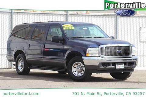 2002 Ford Excursion for sale in Porterville CA