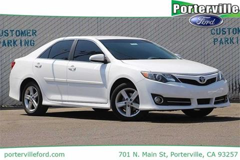 2013 Toyota Camry for sale in Porterville CA