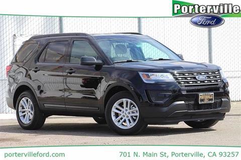 2017 Ford Explorer for sale in Porterville, CA