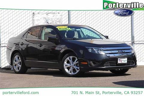 2012 Ford Fusion for sale in Porterville CA