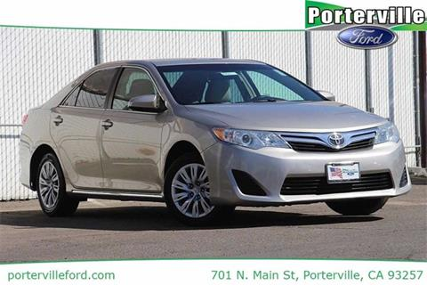 2013 Toyota Camry for sale in Porterville, CA