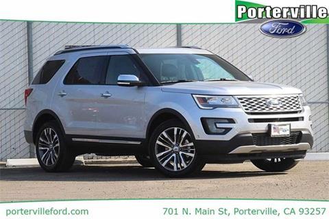 2017 Ford Explorer for sale in Porterville CA