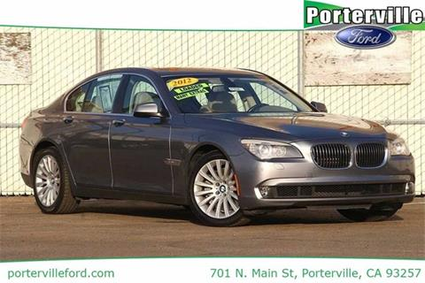 2012 BMW 7 Series for sale in Porterville, CA