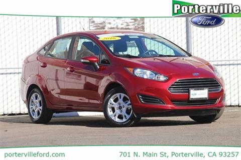 2016 Ford Fiesta for sale in Porterville, CA