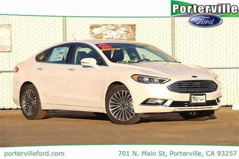 2017 Ford Fusion for sale in Porterville CA