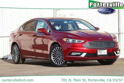 2017 Ford Fusion for sale in Porterville, CA