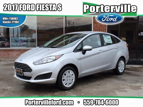 2017 Ford Fiesta for sale in Porterville, CA