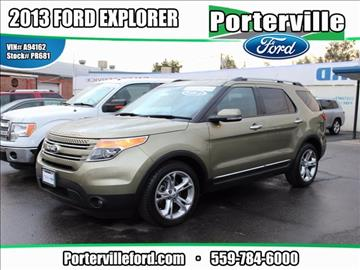 2013 Ford Explorer for sale in Porterville, CA