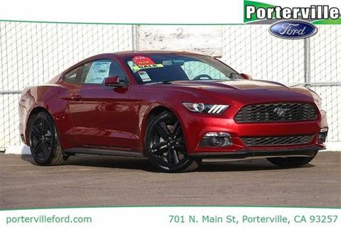 2017 Ford Mustang for sale in Porterville CA