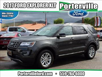 2017 Ford Explorer for sale in Porterville, CA