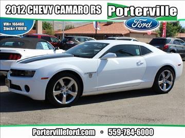 2012 Chevrolet Camaro for sale in Porterville, CA