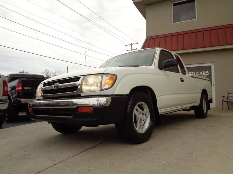 1998 toyota tacoma 2dr sr5 extended cab sb in kernersville nc used cars for sale. Black Bedroom Furniture Sets. Home Design Ideas