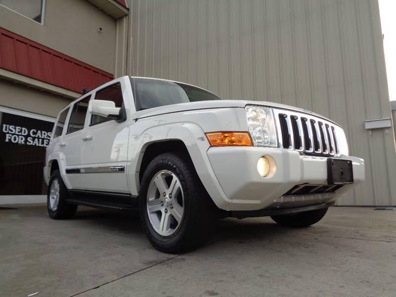2010 jeep commander 4x4 limited 4dr suv in kernersville nc used cars for sale. Black Bedroom Furniture Sets. Home Design Ideas