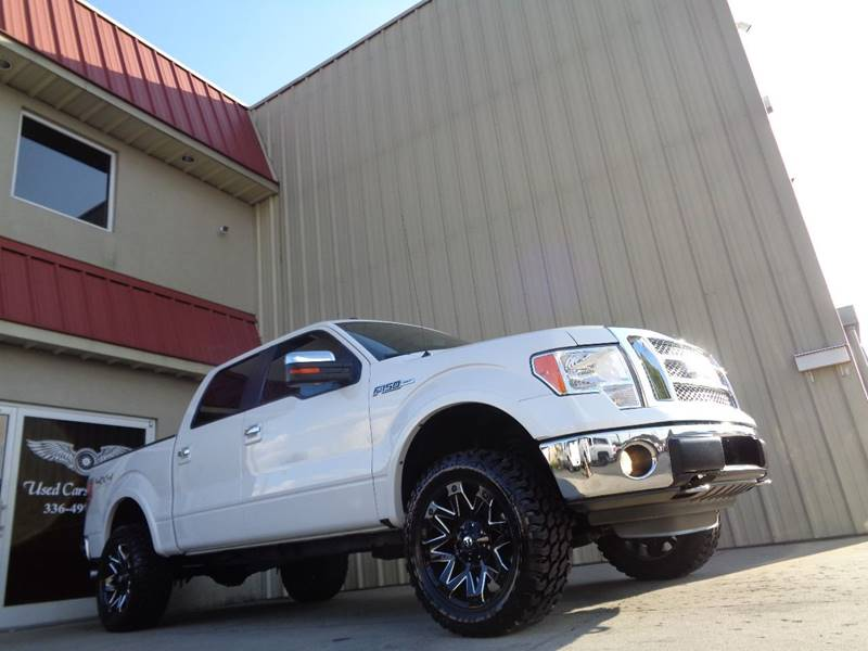 2012 Ford F-150 4x4 Lariat 4dr SuperCrew Styleside 5.5 ft. SB In ...