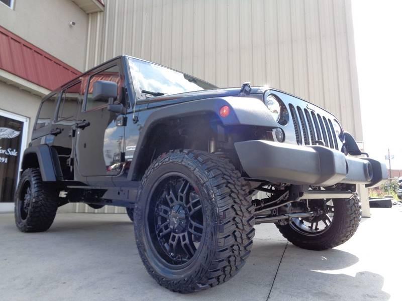 2012 jeep wrangler unlimited 4x4 sport 4dr suv in kernersville nc used cars for sale. Black Bedroom Furniture Sets. Home Design Ideas