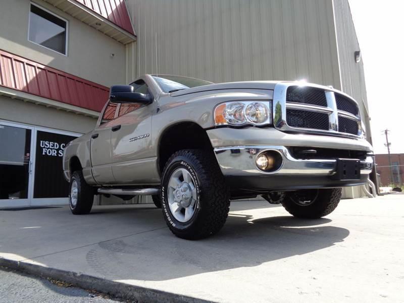 2005 dodge ram pickup 2500 slt 4dr quad cab 4wd sb in kernersville nc used cars for sale. Black Bedroom Furniture Sets. Home Design Ideas