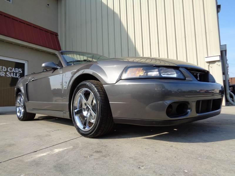 2003 ford mustang svt cobra base svt cobra 2dr supercharged convertible in kernersville nc. Black Bedroom Furniture Sets. Home Design Ideas