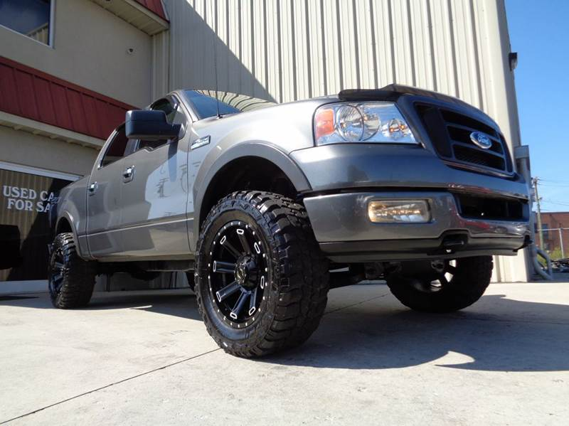 2005 ford f 150 fx4 4dr supercrew 4wd styleside 5 5 ft sb in kernersville nc used cars for sale. Black Bedroom Furniture Sets. Home Design Ideas