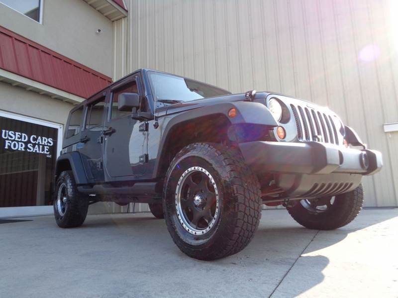 2008 jeep wrangler unlimited x 4x4 4dr suv in kernersville nc used cars for sale. Black Bedroom Furniture Sets. Home Design Ideas